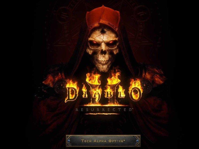 Botón Resurrected Tech Alpha de Diablo 2