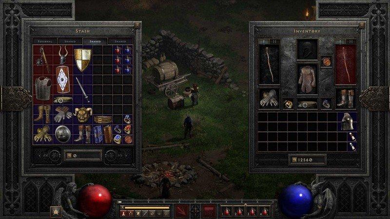 Diablo 2 Risen Shared Stash Tres páginas