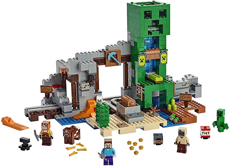 Minecraft LEGO Le Creeper Mine Reco Imagen