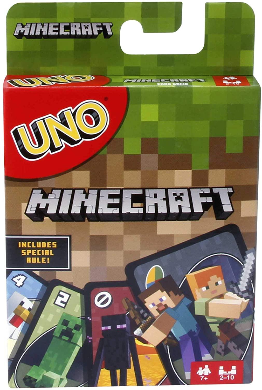 Juego de cartas Minecraft Uno Reco Image