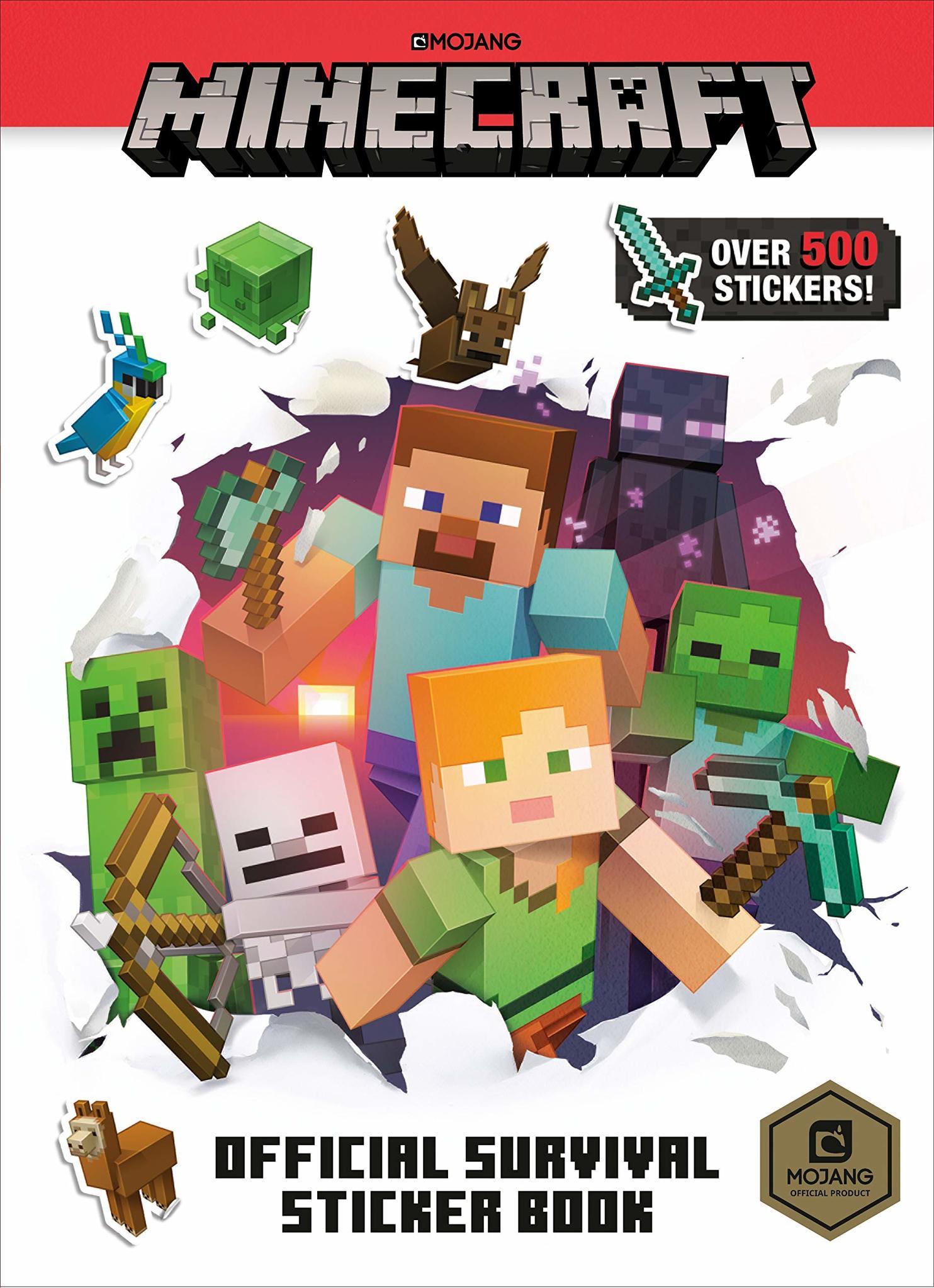 Calcomanía de Minecraft Survival Reco