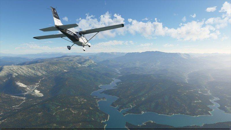 Microsoft Flight Simulator Cessna C172 Grecia