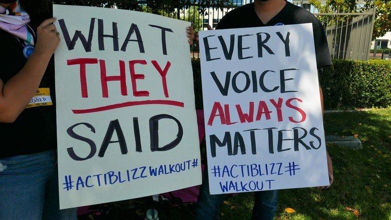 La voz de la huelga de Activision Blizzard todavía cuenta