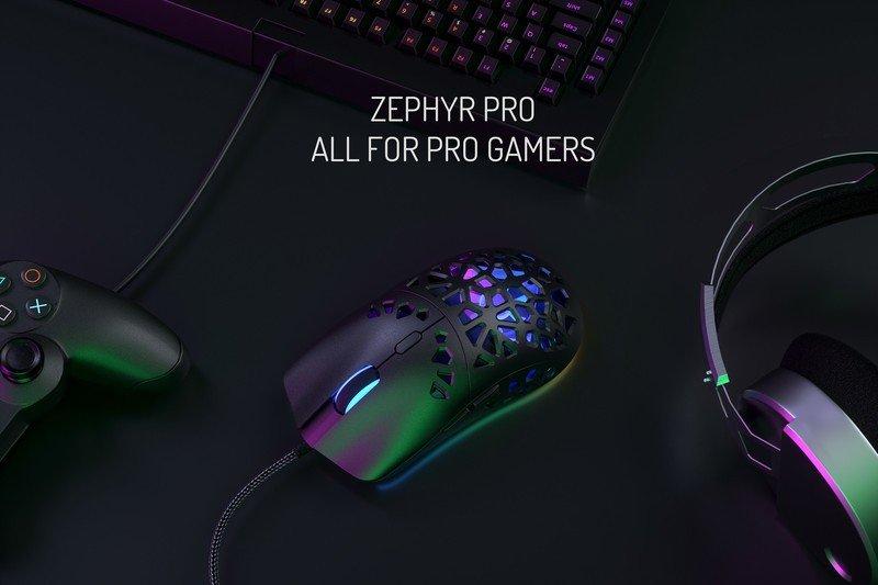 Anuncio de Marsback Zephyr Pro para jugadores