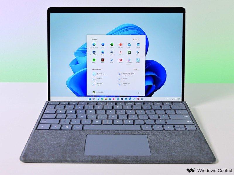 Surfaceprox de inicio de Windows 11