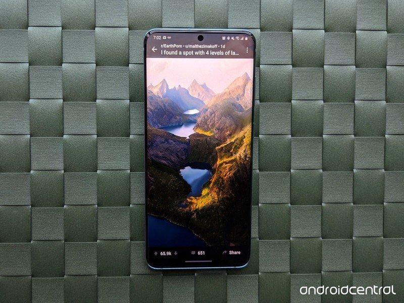Galaxy S20 Vibrance Reddit Earthpics revisión