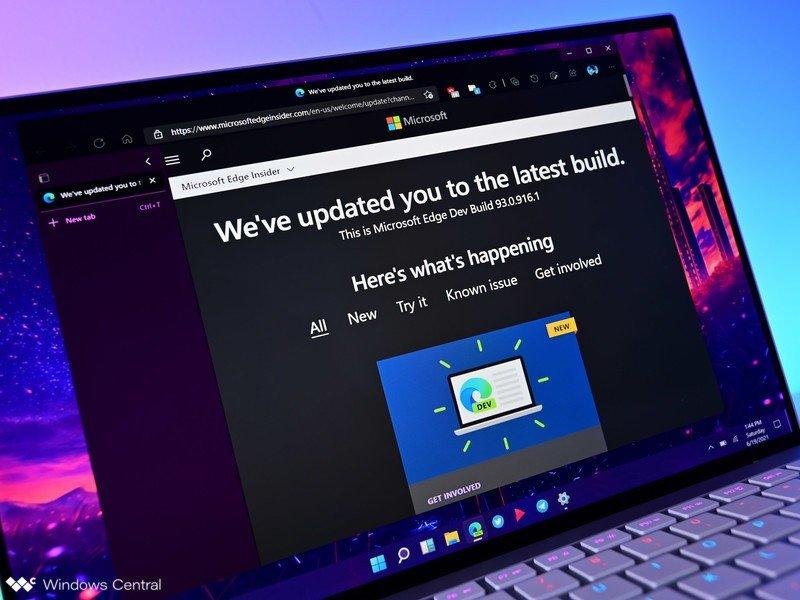 Desarrollador de actualizaciones de Microsoft Edge Nuevo