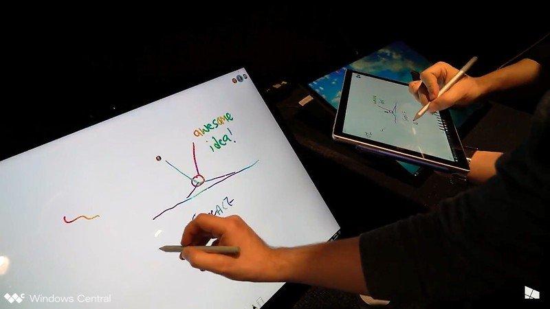 Colaboración con Microsoft Whiteboard