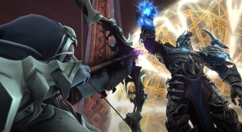Sylvanas carcelero de Warcraft