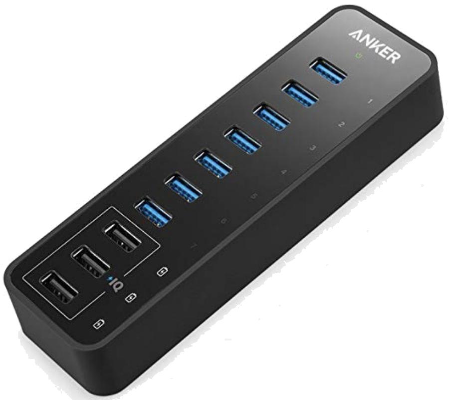 Concentrador de acoplamiento USB 3.0