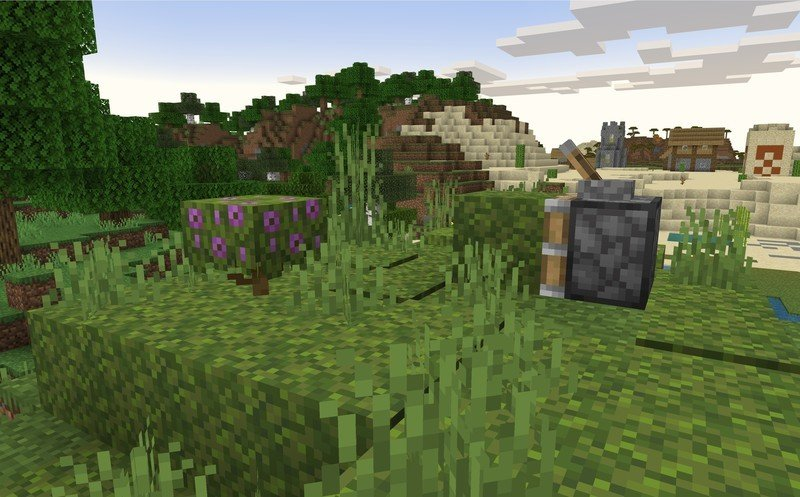 Imagen Beta de la actualización 1.17.20.23 de Minecraft Caves and Cliffs