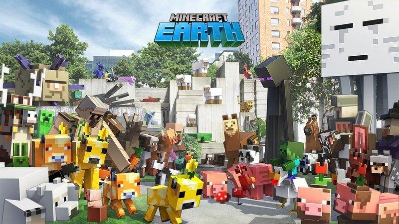 Imagen de héroe de Minecraft Earth