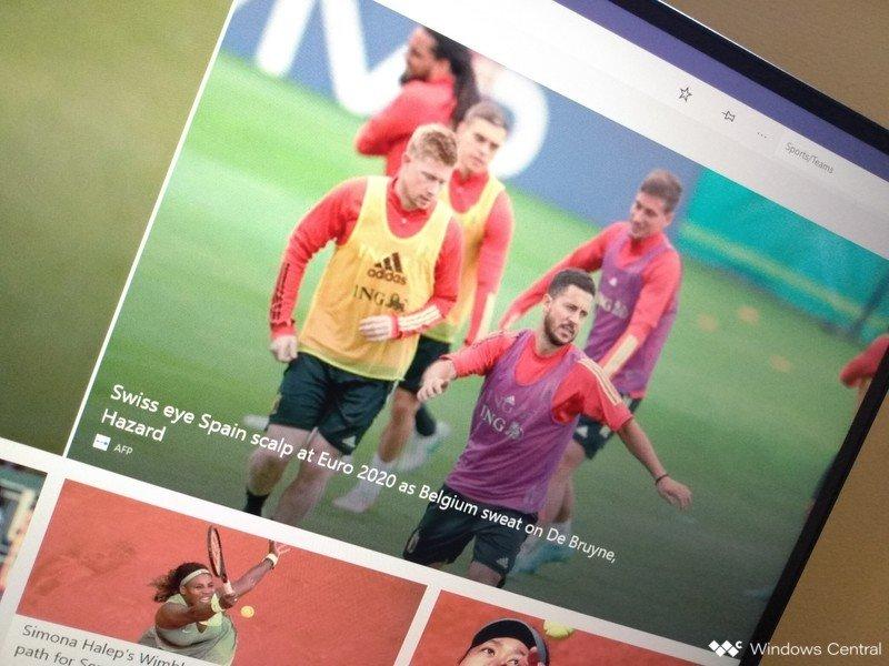 Aplicación Msn Sports para Windows