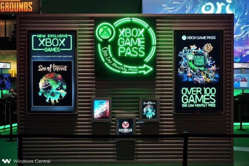 Quiosco de Xbox Game Pass