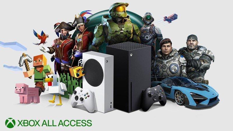 Xbox All Access Series X Series S