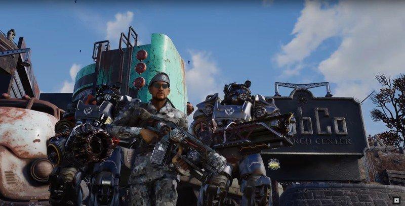 Tráiler de Fallout 76 Steel Dawn