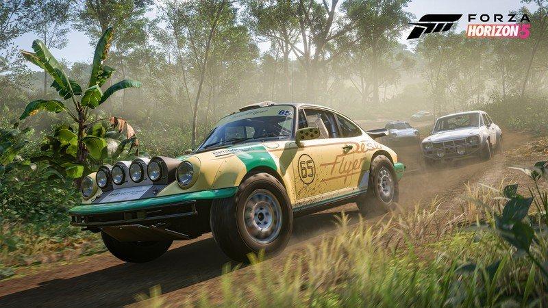 Captura de pantalla de Forza Horizon 5 Gamescom