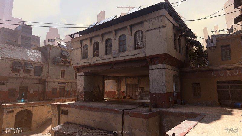 Mapa de Halo Infinite Bazaar