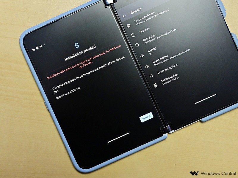 Actualización de Surface Duo de marzo de 2021