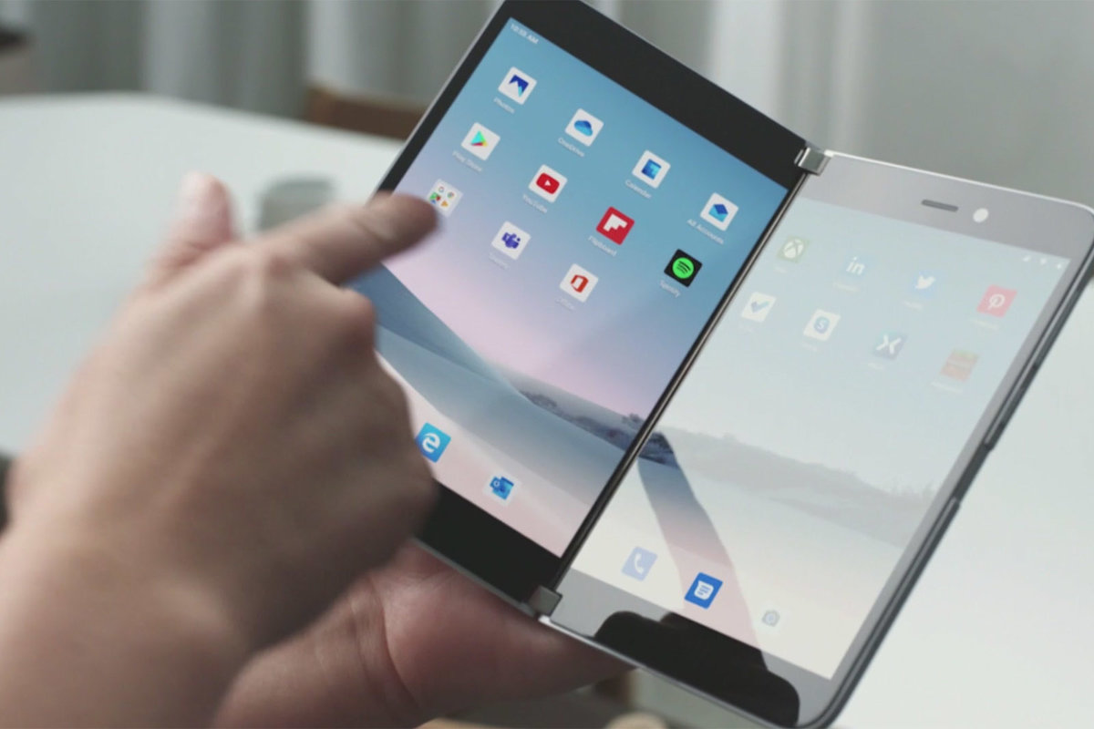 Imagen promocional de Surface Duo