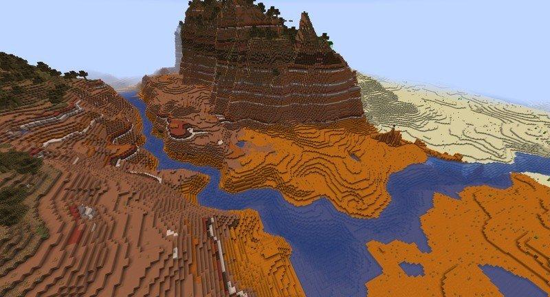 Imagen de Instantánea experimental 4 de la actualización 1.18 de Minecraft Caves and Cliffs