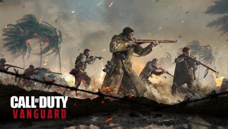 Arte de la vanguardia de Call Of Duty