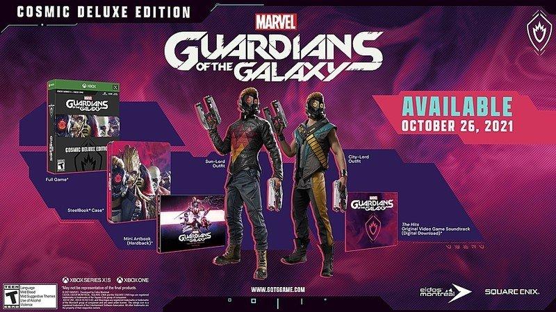 Máscaras de Guardians Deluxe Edition
