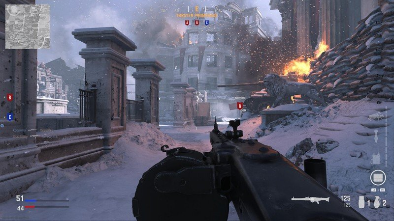 Avance multijugador de Call Of Duty Vanguard Beta Snow