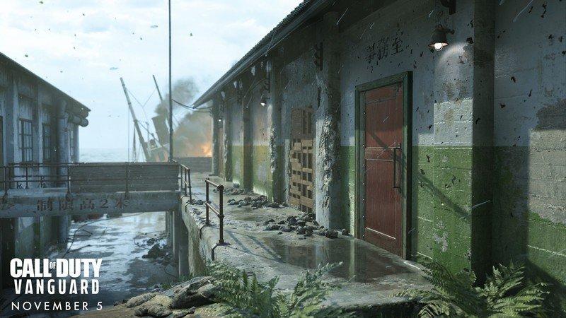 Estaciones de acoplamiento Gavutu multijugador de Call Of Duty Vanguard