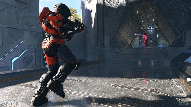 Combate de Halo Infinite Behemoth