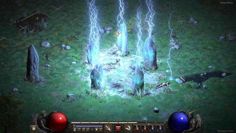Diablo 2 Risen Tech Alpha Cairn Stones
