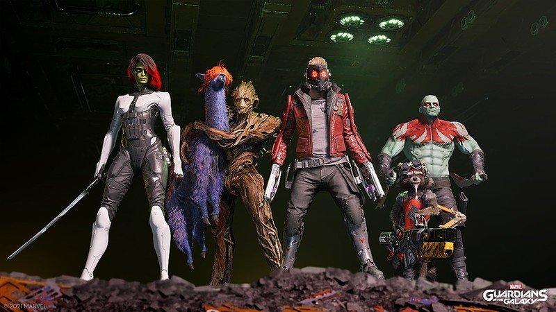 Captura de pantalla de Guardianes de la Galaxia