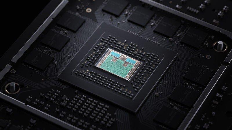 Chip de la serie X de Xbox